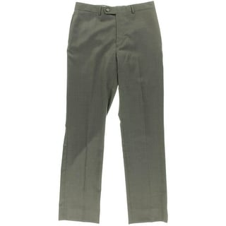 Tommy Hilfiger Mens Tyler Dress Pants Wool Pattern - 34/32