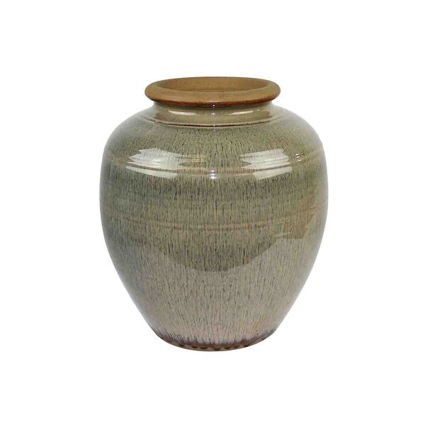 Exquisite Ceramic Vase, Beige