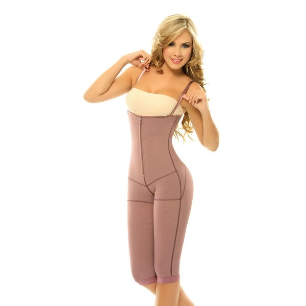 3d5ab63c6b Shop Siluet Postpartum High Compression Long Leg Full Body Shaper PL2 -  Free Shipping Today - Overstock - 23025711
