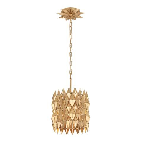 Varaluz Forever 1-light French Gold Pendant