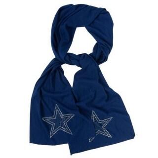 NFL Dallas Cowboys Jewel Logo Scarf, Blue