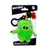 "Angry Birds Movie 4.5"" Plush Clip On: Pig - multi"
