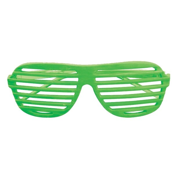 897d09af5d Shop Glasses Slot Neon Green Costume Accessory - Free Shipping On Orders  Over  45 - Overstock.com - 21558274
