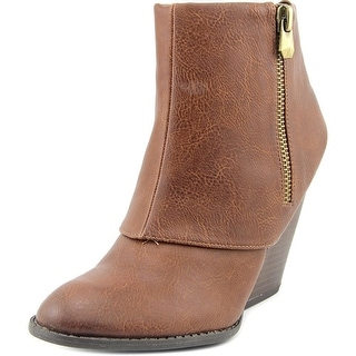 Fergalicious Envy Round Toe Synthetic Ankle Boot