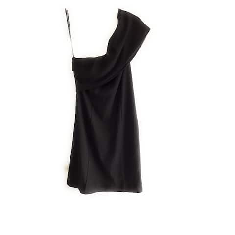 Kendall Kylie One Shoulder Dress, Black, Small