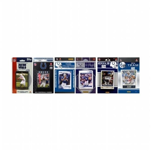 Shop NFL Indianapolis Colts 6 Different Licensed Trading Card Team ...