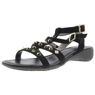 The Flexx Womens Glad I Came Gladiator Sandals Nubuck Studded - 11 medium (b,m)