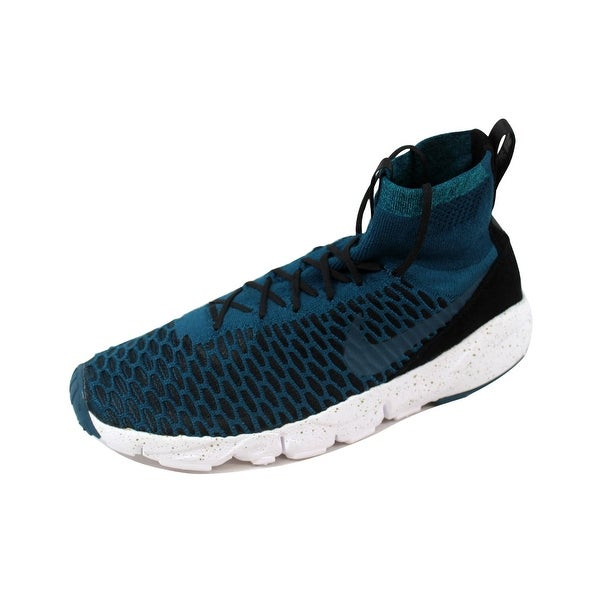 low priced 9b89e 77668 Nike Men  x27 s Air Footscape Magista Flyknit FC Midnight  Turquoise Midnight Turquoise
