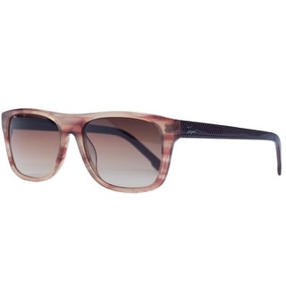 Lacoste L657S 538 Rose Horn Wayfarer Sunglasses