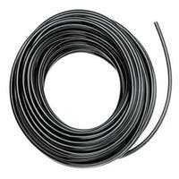 "Raindrip 016010T Drip Watering Poly Tubing, 1/4"" x100', Black"