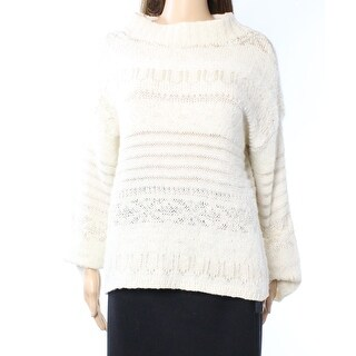 Polo Ralph Lauren NEW White Ivory Women Large L Pullover Sweater