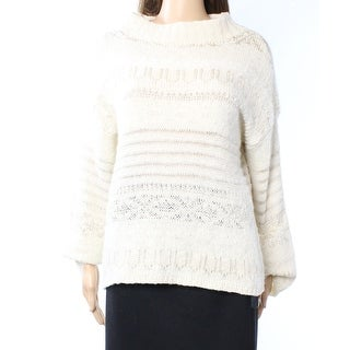 Polo Ralph Lauren NEW White Ivory Women Medium M Pullover Sweater
