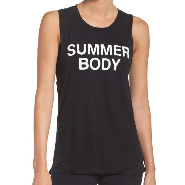 1a0ebee43475fe Shop Private Party NEW Black Women s Size Medium M Tank Summer Body Top -  Free Shipping On Orders Over  45 - Overstock - 20851709