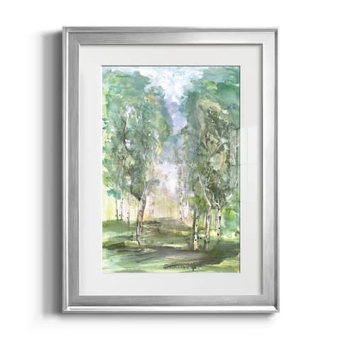Birch Meadow Premium Framed Print - Ready to Hang