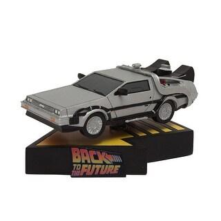 """Back to the Future 7"""" Delorean Time Machine Premium Motion Statue - multi"""