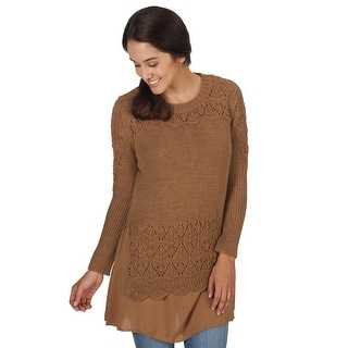 Women's Meg Layered Sweater Tunic Top