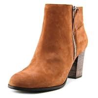 Cole Haan Womens Davenport Closed Toe Ankle Fashion Boots - Cognac - 7