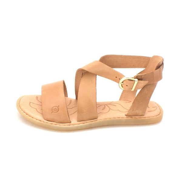 B.O.C Womens Niel Leather Open Toe Casual Ankle Strap Sandals