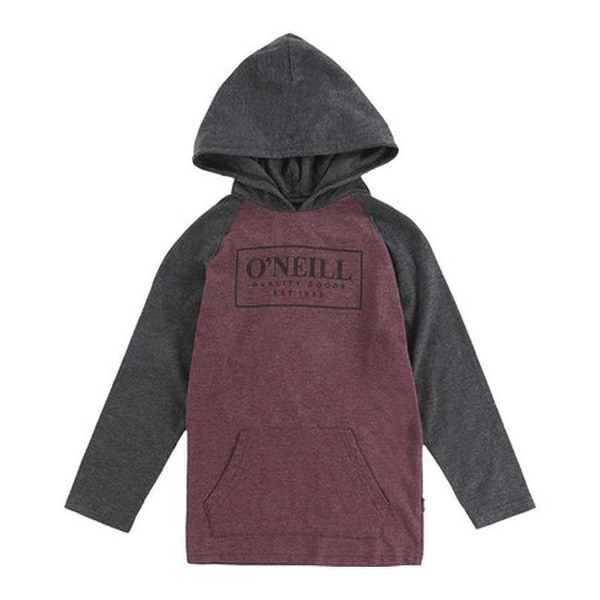 huge discount c839a 12f67 O'Neill Boys' League Hooded Pullover Wine