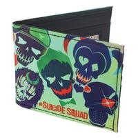Suicide Squad Bifold Wallet - Multi