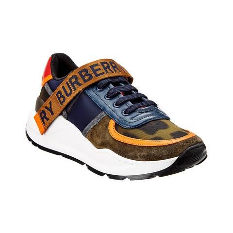 Burberry Logo Leather Sneaker