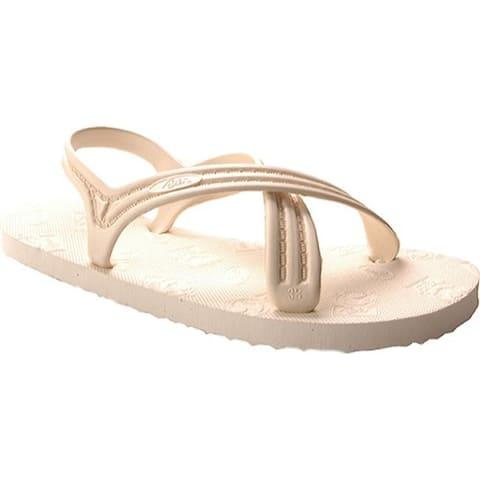 Flojos 101 Cross-Strap Slingback Ivory