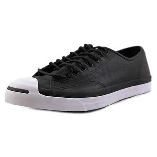 Converse JP Jack Ox Men Round Toe Canvas Black Sneakers