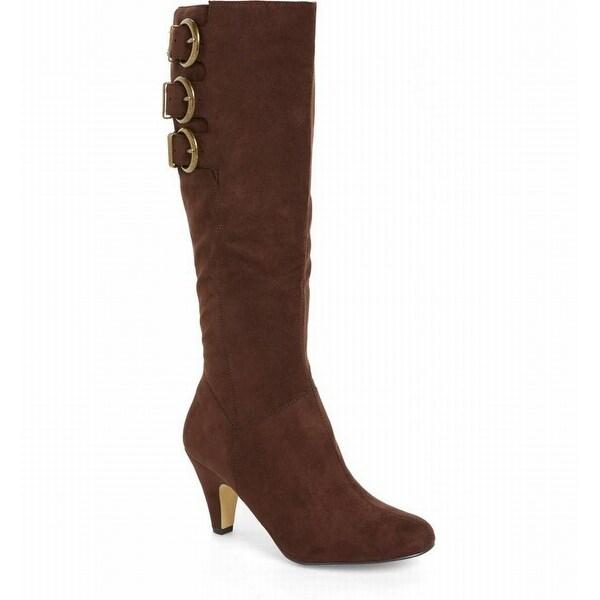 Bella Vita NEW Brown Women's Shoes 9.5WW Tranquil Knee High Boot