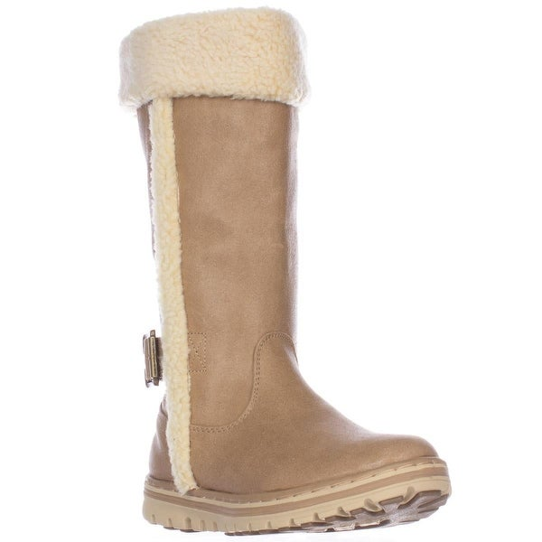 White Mountain Cliffs Kesha Mid Calf Winter Boots, Stone