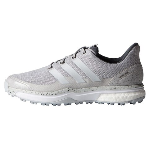 Adidas Men's Adipower Sport Boost 2 Solid Grey/White Golf Shoes F33217