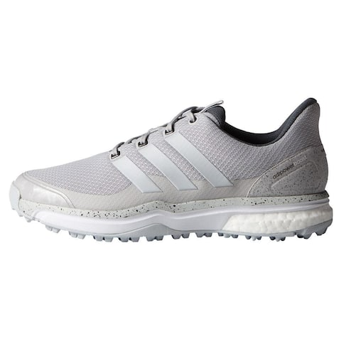3f92989ee733dc Adidas Men s Adipower Sport Boost 2 Solid Grey White Golf Shoes F33217