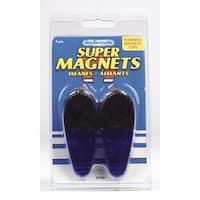 Master Magnetics 07506 Large Plastic Magnetic Clips - Blue