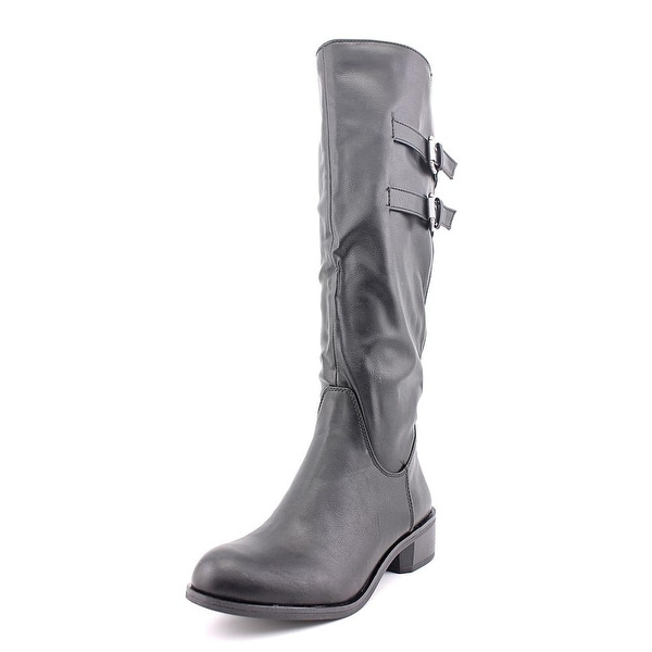 Style & Co Masen Riding Boot Round Toe Synthetic Knee High Boot