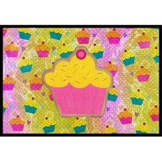 Carolines Treasures SB3003MAT 18 x 27 in. Cupcake Indoor Or Outdoor Mat