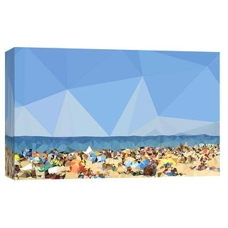 "PTM Images 9-103727  PTM Canvas Collection 8"" x 10"" - ""Beach Fragments C"" Giclee Beaches Art Print on Canvas"