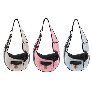 Pet Carrier Backpack Bag, Puppy Cat Carrier Holder, for Outdoor Picnic Shopping