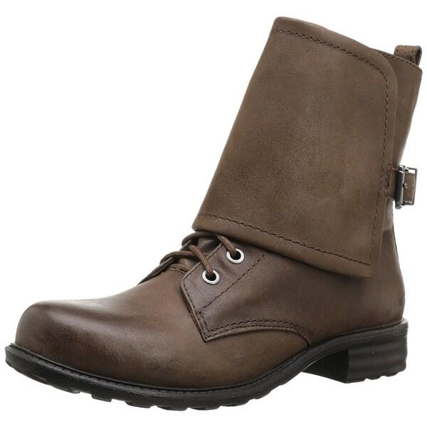 Jessica Simpson Women's Tahira Foldover Combat Boots - 5
