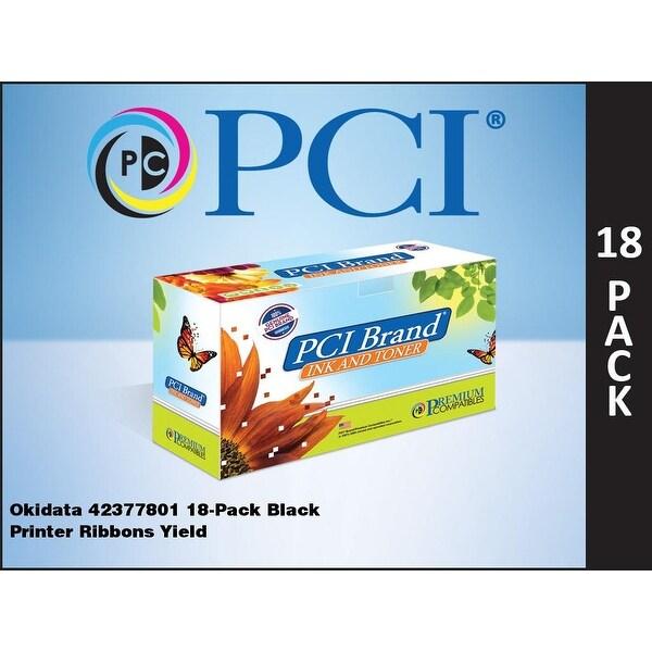 Pci - Okidata 42377801 18-Pack Black Ribbons