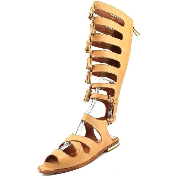 Rebecca Minkoff NEW Brown Shoes 7.5M Gladiator Summer Sandals