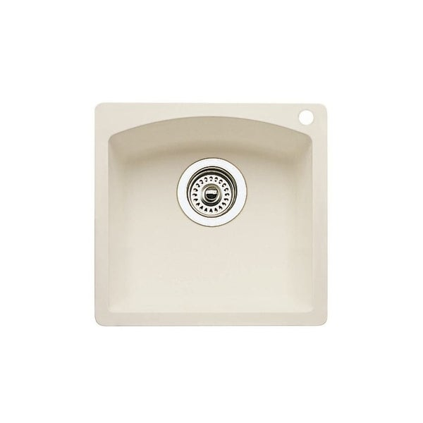 Blanco 440206 Diamond Single Basin Silgranit Ii Bar Sink 15 X Biscuit