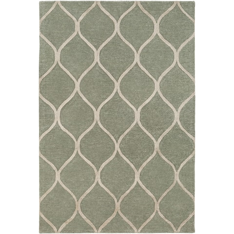 Hand-Tufted Lechlade Wool Rug - 9' x 13'