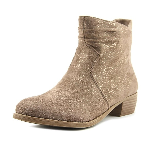 Not Rated Yamila Women Round Toe Canvas Bootie
