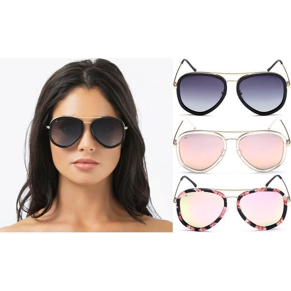 f252bd007f PRIVe REVAUX The Supermodel Handcrafted Designer Polarized Brow Bar  Sunglasses For Men   .