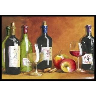 Carolines Treasures TMTR300AJMAT Wine by Malenda Trick Indoor or Outdoor Mat 24 x 36