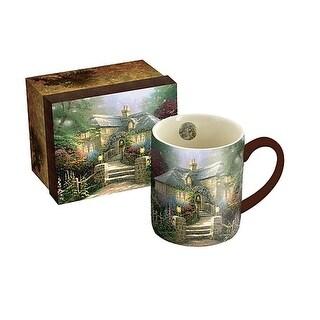 Hollyhock House 14 oz. Mug, Coffee & Tea by Lang Companies