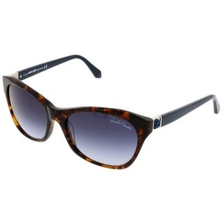 Roberto Cavalli RC 730/S 53W Brown Cateye Sunglasses