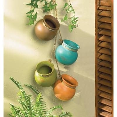 Dangling Mini Pots - Multi-color