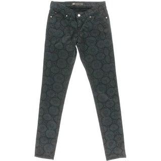 Levi's Womens Juniors Printed Demi Curve Skinny Jeans - 26/32