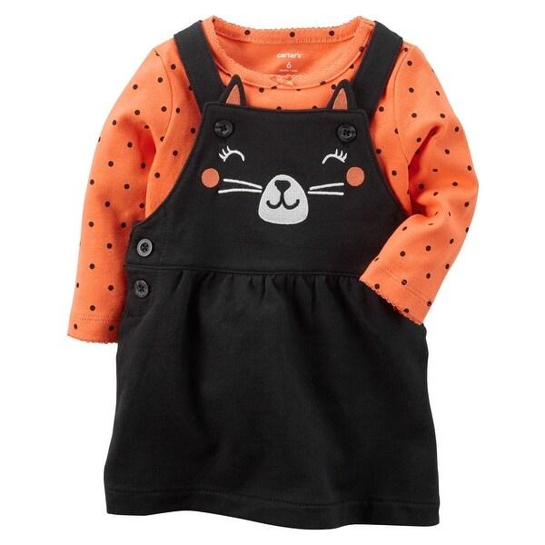 14b18f85b052 Shop Carter s Baby Girls  2 Piece Cat Bodysuit And Jumper Set 3 ...