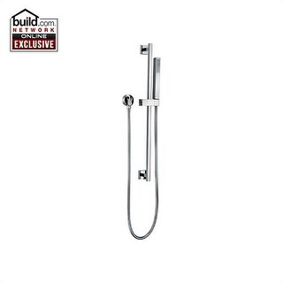 Fortis 8412900 Scala Single Function Hand Shower Package with Slide Bar, Hose an